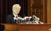 越共十二届五中全会闭幕  颁布三项关于经济问题的专题决议