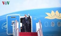 越南政府总理阮春福启程对美国进行正式访问