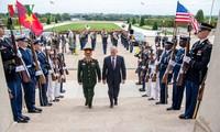 使越美防务合作符合两国全面伙伴关系