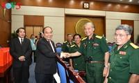 越南政府总理阮春福会见长山部队传统协会代表