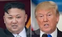 美国总统继续针对朝鲜发表强硬言论
