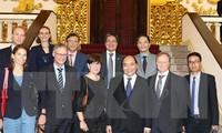 越南一向希望欧洲各国企业投资越南