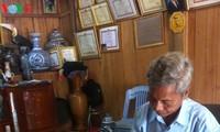 推广戈都族文化的长老布赫留普