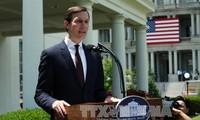 美国承诺支持中东和平进程