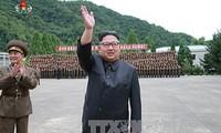 朝鲜进行假想进攻演习
