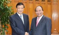 越中发展睦邻友好、全面战略合作伙伴关系
