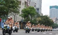 APEC领导人会议周安保力量出征仪式总排练和安保演练举行