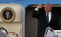 美国总统特朗普开始对亚洲进行访问