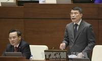 全国选民热议国家银行行长黎明兴和通讯传媒部长张明俊的回答质询活动