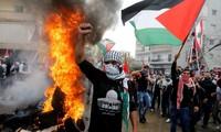 美国承认耶路撒冷为以色列首都的决定引发反对浪潮