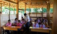 Sprachunterricht für Kinder der Minderheitsvölker