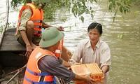 AusAID unterstützt Überschwemmungsopfer im Mekong Delta