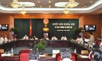 Der ständige Ausschuss des Parlaments beginnt seine 4. Sitzung