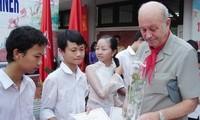 Vize-Staatspräsidentin trifft Präsidenten der SOS-Kinderdörfer weltweit