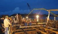 Wirtschaftszone Dung Quat: Arbeiten an den Festtagen