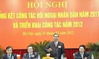Verstärkung der Volksdiplomatie in Vietnam