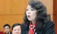 Anhörung einiger Minister bei der Sitzung des ständigen Parlamentsausschusses