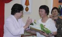 Eine Japanerin engagiert sich für Vietnam