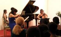Konzert des Trios Aurora im Goethe Institut Hanoi