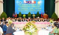 Konferenz des Entwicklungsdreiecks Kambodscha-Laos-Vietnam