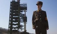 Reaktion anderer Länder auf die Verschiebung des Satellitenstarts Nordkoreas