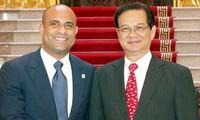 Intensivierung der Beziehungen zwischen Vietnam und Haiti