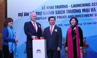 EU fördert Handel und Investition in Südvietnam
