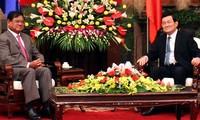 Staatspräsident Truong Tan Sang empfängt Vizepremierminister Kambodschas
