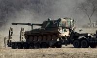 Südkorea und die USA führen gemeinsames Militärmanöver