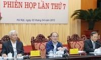 Bearbeitungsgruppe für Verfassungsänderung tagt zum 7. Mal