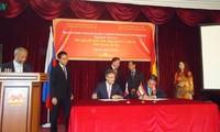 Unternehmer Vietnams und Russlands unterzeichnen Vereinbarungen in Landwirtschaft und Tourismus