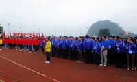 Festival der Jugendlichen Vietnams und Chinas in Guangxi