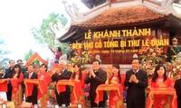 Tempel für verstorbenen KPV-Generalsekretär Le Duan eingeweiht