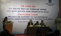 Start des Projektes zur Verbesserung der Sozialhilfepolitik