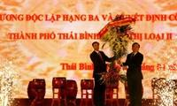 Thai Binh wird zur Stadt der Klasse II anerkannt