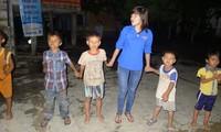 Studenten in Phu Yen engagieren sich als Freiwillige für die Modernisierung ländlicher Gebiete