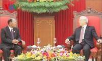 Die traditionelle Freundschaft zwischen Vietnam und Kambodscha soll vertieft werden