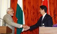 Japan und Indien bauen Gegengewicht in Asien