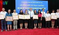 Stimme Vietnams gewinnt neun Preise des Pressewettbewerbs für Solidarisierung der Nation