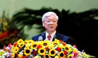 Vaterländische Front Vietnams spielt eine wichtige Rolle beim Aufbau und Verteidigung des Landes
