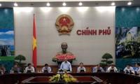 Vizepremierminister Nguyen Xuan Phuc leitet die Sitzung der Kooperationsabteilung Vietnam-Laos