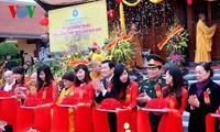 Der Staatspräsident nimmt an Einweihungsfeier der Phat Tich Truc Lam Ban Gioc-Pagode teil