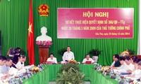 Vizepremierminister Vu Van Ninh bei Zwischenbilanzkonferenz zum Ausbau der Stadt Can Tho
