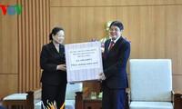 Leiterin des KPV-Komitees für Öffentlichkeitsarbeit Ha Thi Khiet besucht Quang Nam