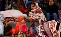 Das vietnamesische Rote Kreuz hilft Erdbebenopfern in Nepal