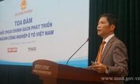 Vietnam entwickelt Autoindustrie