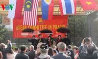 Werbung für vietnamesische Kultur in Tschechien