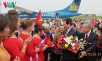Premierminister Nguyen Tan Dung besucht Laos