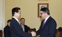 Premier Nguyen Tan Dung: Vietnam und Deutschland entwickeln ihre Beziehungen in allen Bereichen