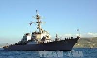 Russland warnt die Nato, keine Marinekräfte im Schwarzen Meer zu gründen